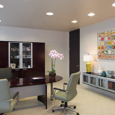Modern Home Office by Montgomery Roth Architecture & Interior Design