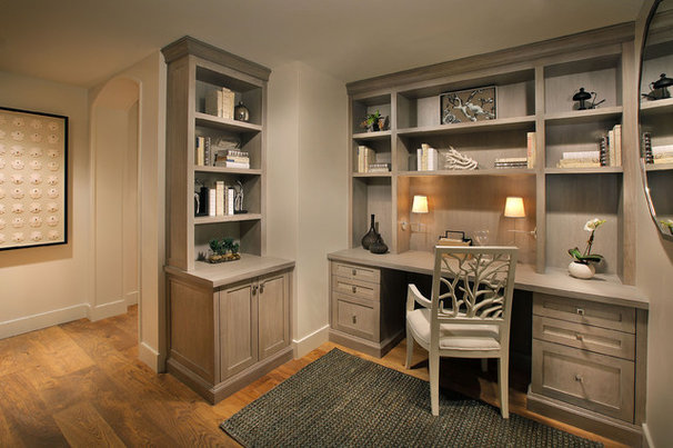 Traditional Home Office by W Design Interiors