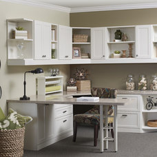 Traditional Home Office by More Space Place Dallas/Fort Worth