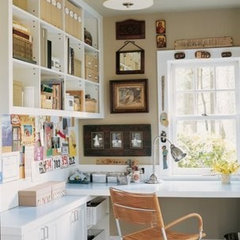 eclectic home office More This