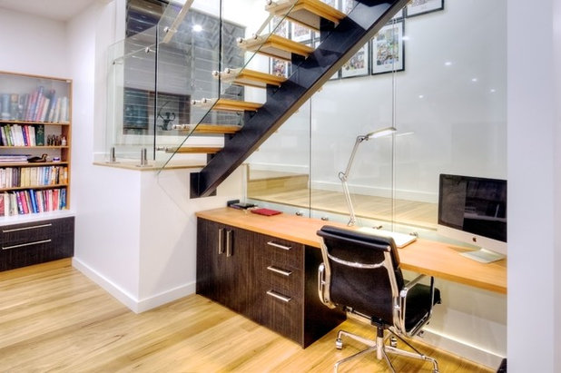 Contemporary Home Office by David Baillie Architect