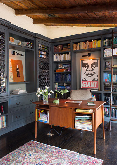 Contemporary Home Office by Deirdre Doherty Interiors