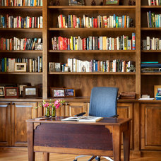 Transitional Home Office by Home Matters LLC