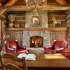 Rustic Home Office by Yellowstone Traditions
