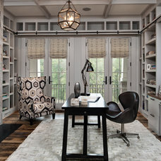 Rustic Home Office by Visible Proof