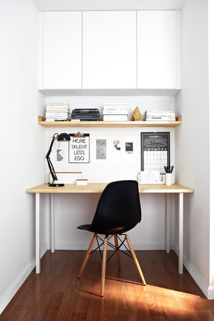Contemporary Home Office by Studio Revolution