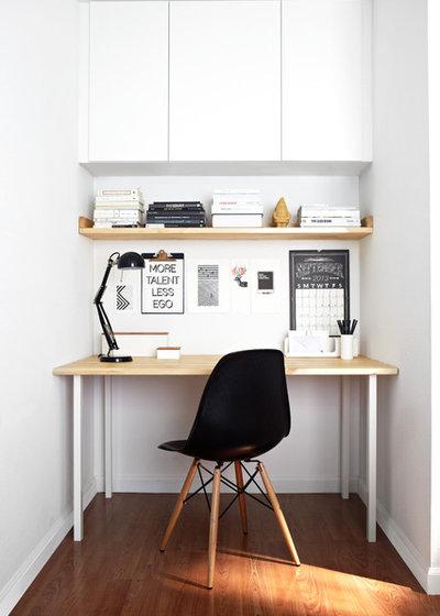 Scandinavian Home Office by Studio Revolution