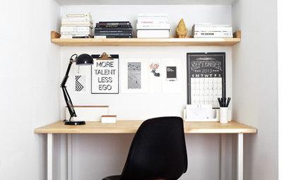10 astuces d co pour personnaliser son bureau. Black Bedroom Furniture Sets. Home Design Ideas