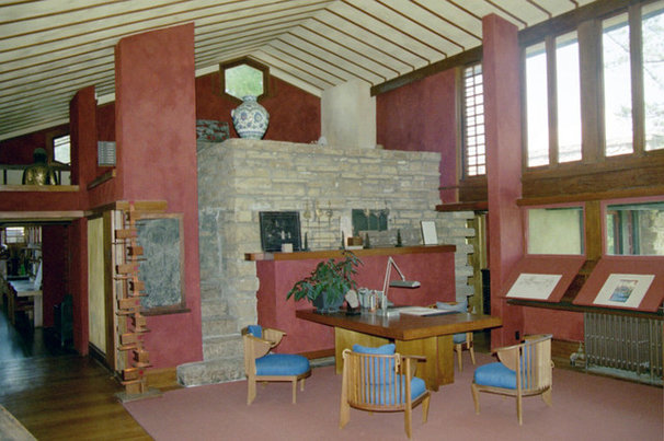 Home Office by Taliesin Preservation, Inc.