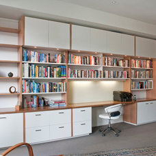 Contemporary Home Office by Designs Australia