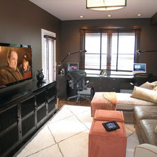 Contemporary Home Office by Tech Tonic LLC