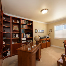 Traditional Home Office by Burgin Construction