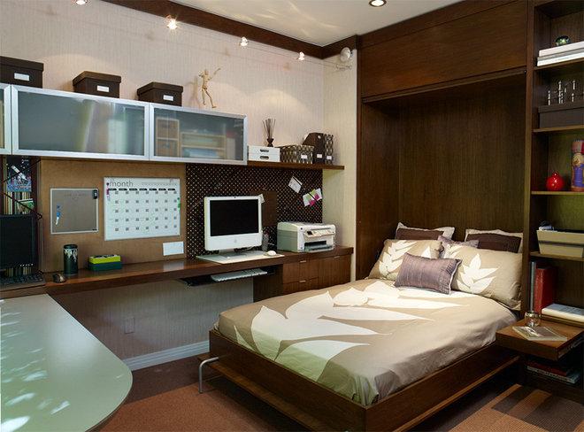 Contemporary Home Office by Erica Islas  / EMI Interior Design, Inc.
