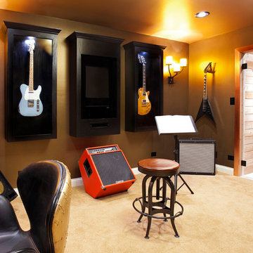 Music and Guitar Room
