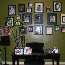 Contemporary Home Office My Glam Office
