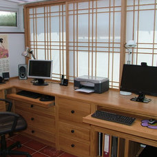 Asian Home Office by Shades of Japan