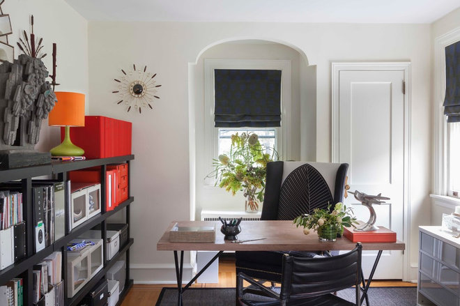 Eclectic Home Office by Hannah Dee Interiors