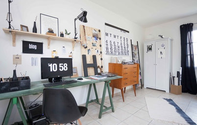 French Houzz: Upcycling Paves the Way For a Funky Family Home
