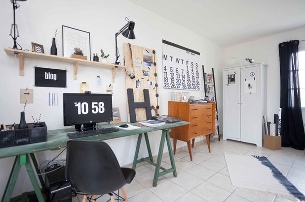 Contemporary Home Office by Hege in France