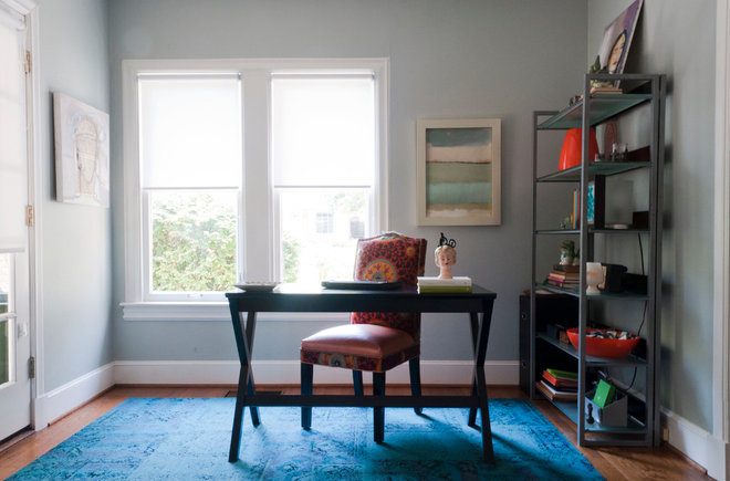 contemporary home office by Angela Flournoy