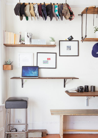 Eclectic Home Office by Nanette Wong