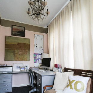 Home office - traditional home office idea in DC Metro