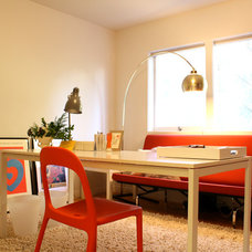 Midcentury Home Office by Shannon Malone