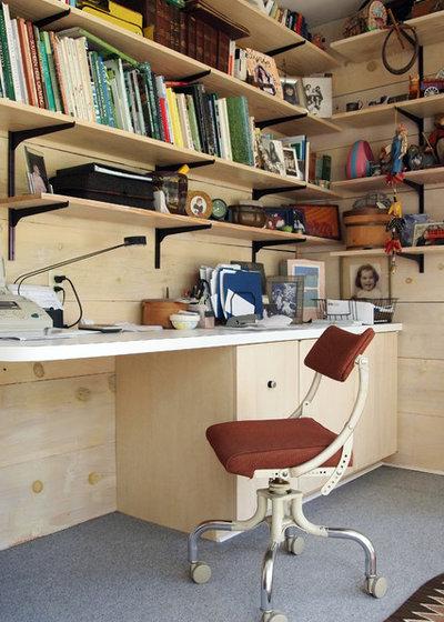 Marvelous Midcentury Home Office by Kayla Stark
