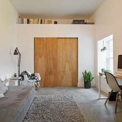 Midcentury Murphy Bed Home Office Design Ideas Pictures