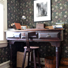 Rustic Home Office by Colleen Brett