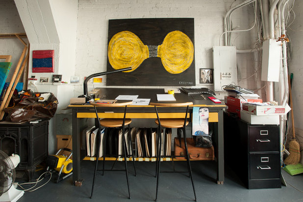 Industrial Home Office by Jason Snyder