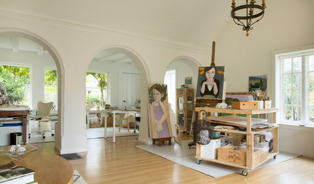 My Houzz: An Artist's Home and Studio Exudes Creativity and Personality