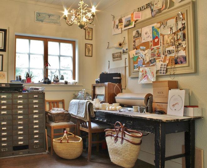 Farmhouse Home Office by Kimberley Bryan