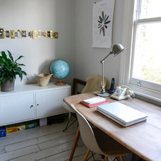 Eclectic Home Office Adamo Family