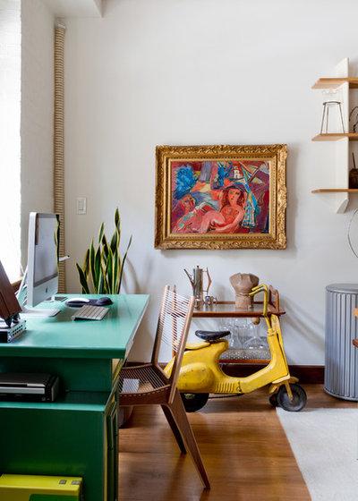 Éclectique Bureau à domicile by Rikki Snyder