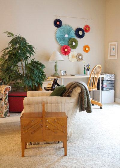 Éclectique Bureau à domicile by Sarah Greenman