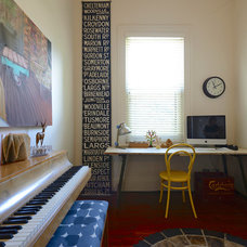 Contemporary Home Office by Jeni Lee