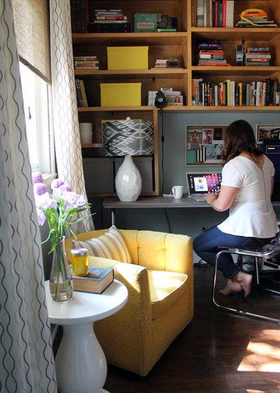 Midcentury Home Office by Laura Garner