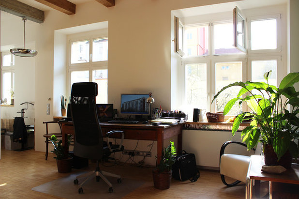 Industrial Home Office by Martin Hulala