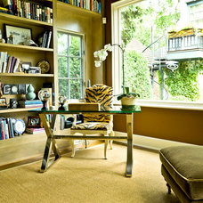Traditional Home Office by Cynthia Lynn Photography
