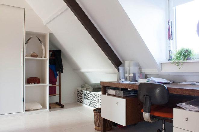 Eclectic Home Office by Louise de Miranda