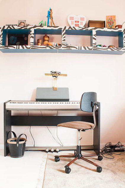 Eclectic Home Office by Louise de Miranda