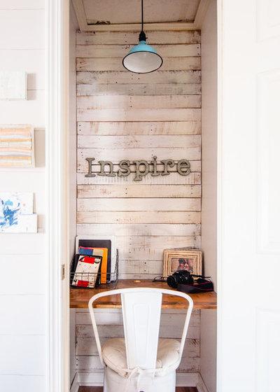 Farmhouse Home Office by Alexandra Crafton