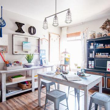 My Houzz: Farmhouse-Inspired DIY Style in a Suburban Kentucky Home