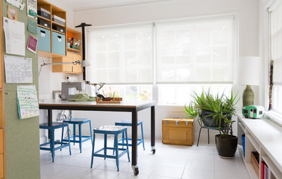 My Houzz: Happy Colors and Fun New Gathering Spaces