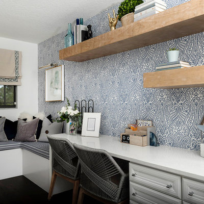 Transitional home office photo in Orlando
