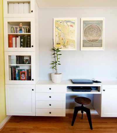 Eclectic Home Office by Alexandra Crafton