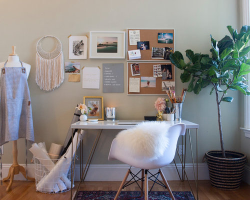 Eclectic San Francisco Home Office Design Ideas Pictures Remodel Decor