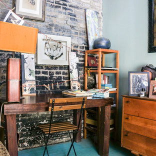 tour stylish office los. Modren Tour Urban Freestanding Desk Study Room Photo In Los Angeles In Tour Stylish Office