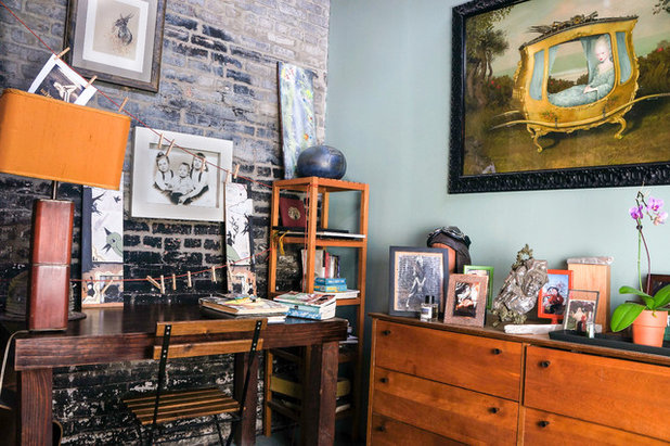 Industrial Home Office by STRUKTR Studios Photography
